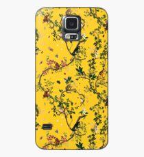 Affe Welt Gelb Hülle & Klebefolie für Samsung Galaxy