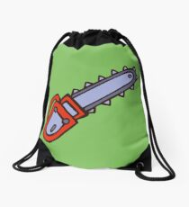 chainsaw chainsaw Drawstring Bag