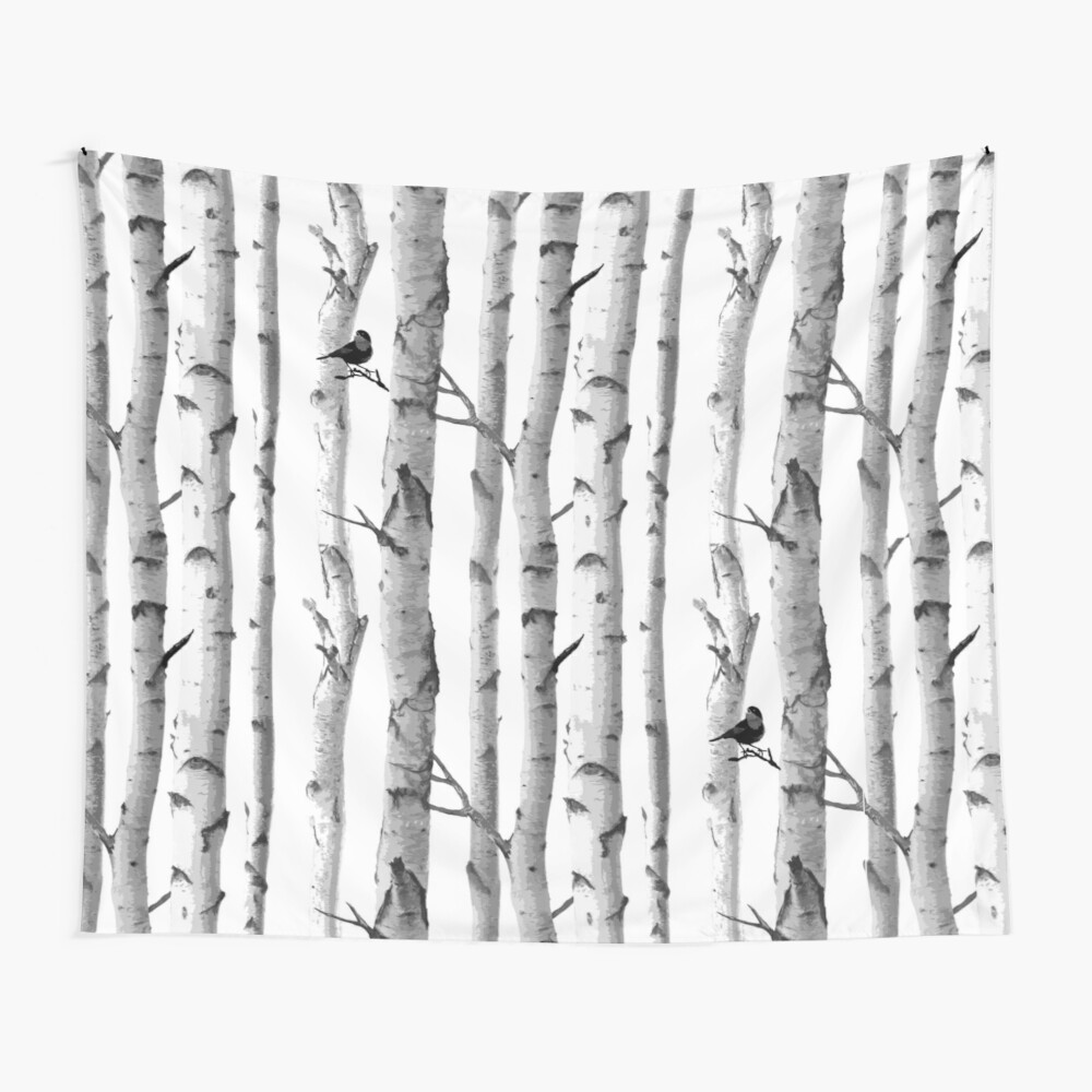 Trees Trunk Design Wall Tapestry