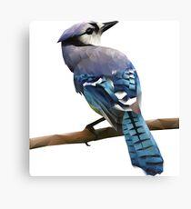 Reborn in Blue Canvas Print