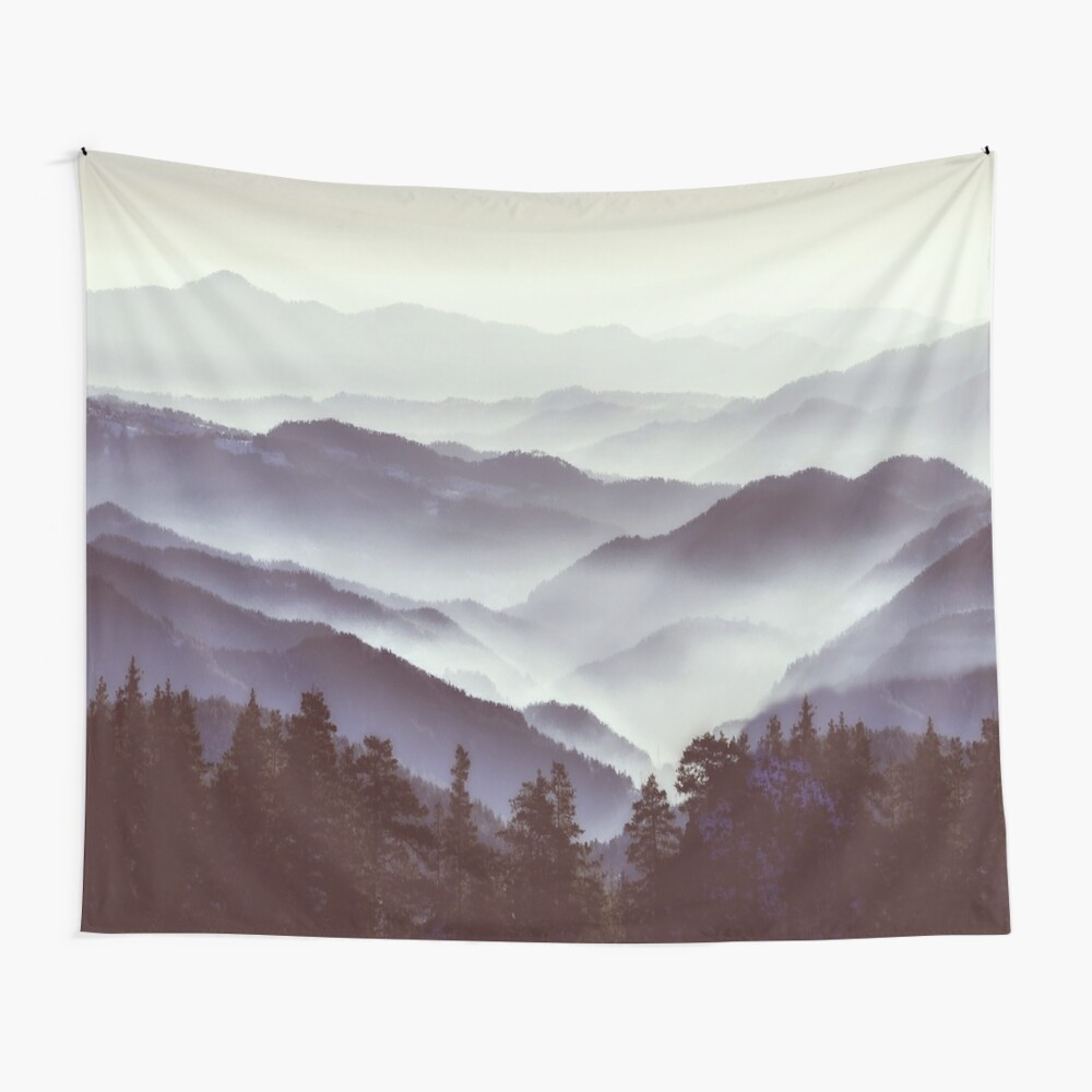 Upcoming Trip Into The Wild Wall Tapestry