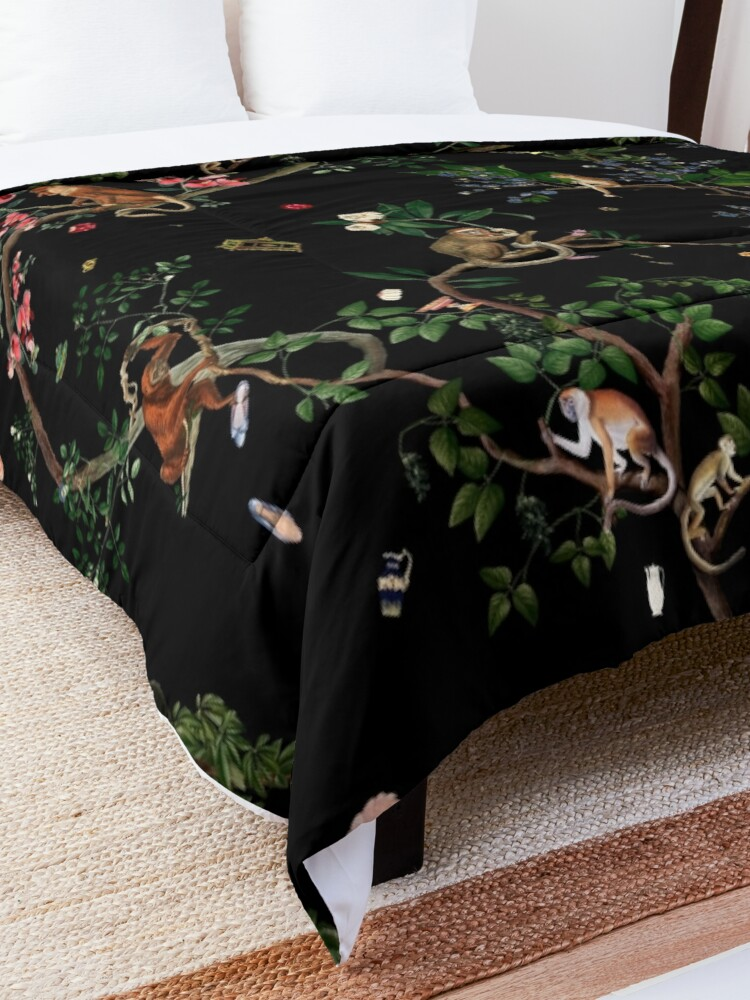 Alternate view of Monkey World Comforter