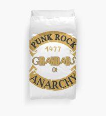 Punk Rock Grandads of Anarchy  Duvet Cover