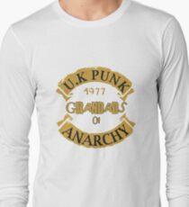 UK Punk Grandads of Anarchy  Long Sleeve T-Shirt
