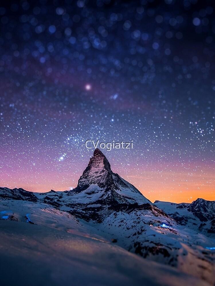 Mountain Reach the Galaxy by CVogiatzi