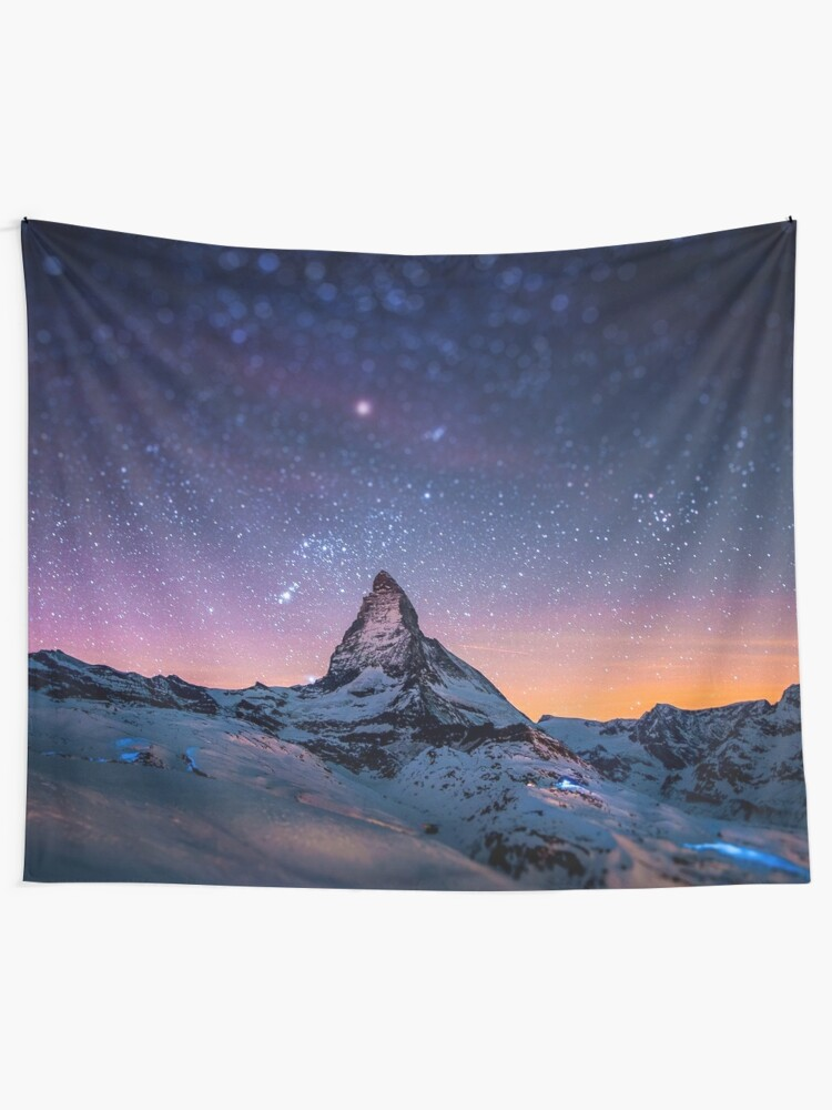 Alternate view of Mountain Reach the Galaxy Tapestry