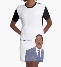 The Wire - Senator Clay Davis, Sheeeeeeit.  Graphic T-Shirt Dress