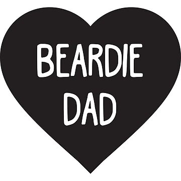 Bearded Dragon Dad T-Shirt by Blvckstar
