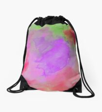 colorful image 3 Drawstring Bag