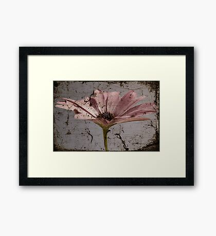 Tainted Beauty Framed Print