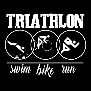 Swim,Bike,Run- Triathlon by SmartStyle
