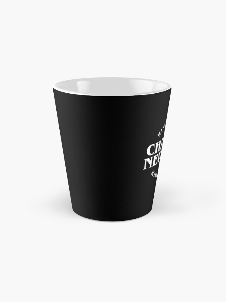 Alternate view of Chaotic Neutral Alignment Kinda Care Kinda Don't Funny Quotes Mug