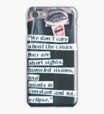 Cynical Eclipse iPhone Case/Skin