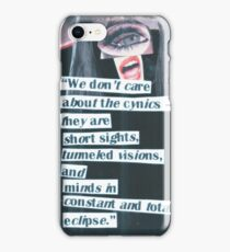 Cynical Eclipse iPhone Case/Skin