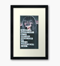 Cynical Eclipse Framed Print