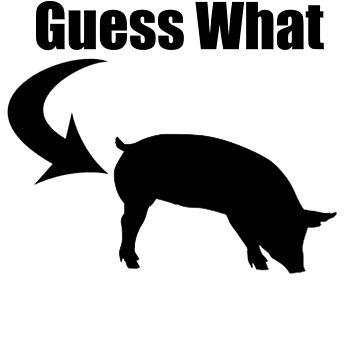 Pig butt by kaelynnmara