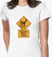 SLIPPERY WHEN DRUNK T-Shirt