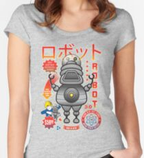 Robot 3.0 Women's Fitted Scoop T-Shirt