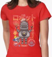 Robot 3.0 Women's Fitted T-Shirt