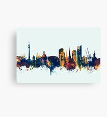 Dortmund Germany Skyline Canvas Print