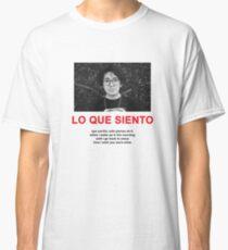 CUCO LO QUE SIENTO MERCH Classic T-Shirt