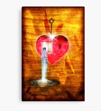 A Heart To Receive Canvas Print