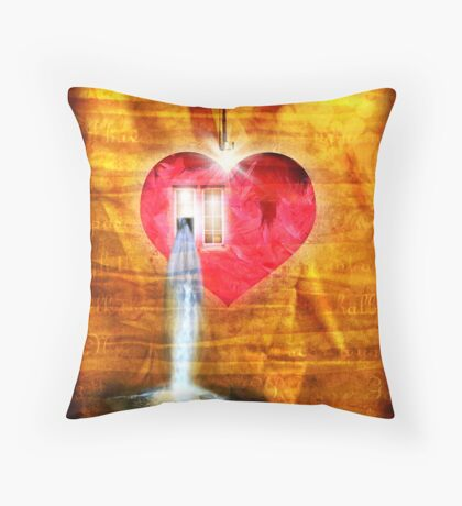 A Heart To Receive Throw Pillow