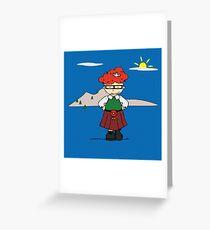 Stewie Greeting Card