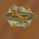 Fractal Gecko by fuxart
