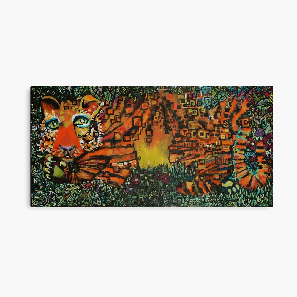 Tuesday's Tiger Canvas Print
