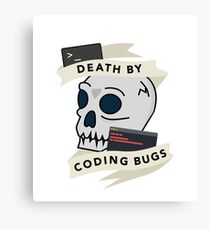 Death by Bugs Canvas Print