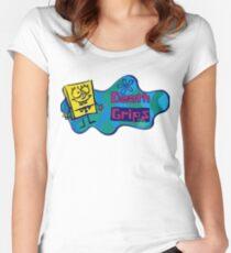 Todesgriffe Tailliertes Rundhals-Shirt