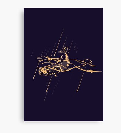 Moonlight salvation Canvas Print