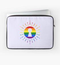 RAINBOW - SUN - KEYHOLE Laptop Sleeve