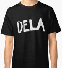 """Dela"" White Out Self Elimination Classic T-Shirt"