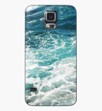 Blue Ocean Waves  Case/Skin for Samsung Galaxy