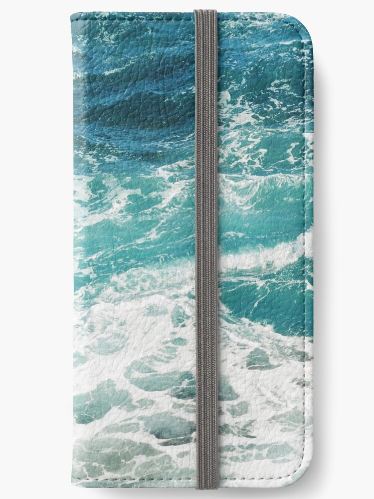 Blaue Meereswellen von AlexandraStr