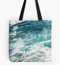 Bolsa de tela Olas azules del oceano