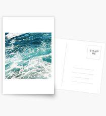 Blue Ocean Waves  Postcards
