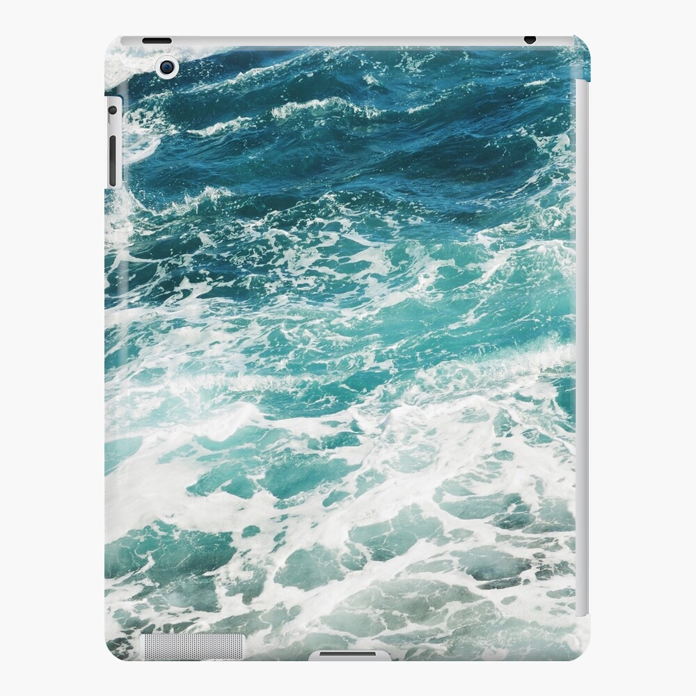 Blue Ocean Waves  iPad Case & Skin