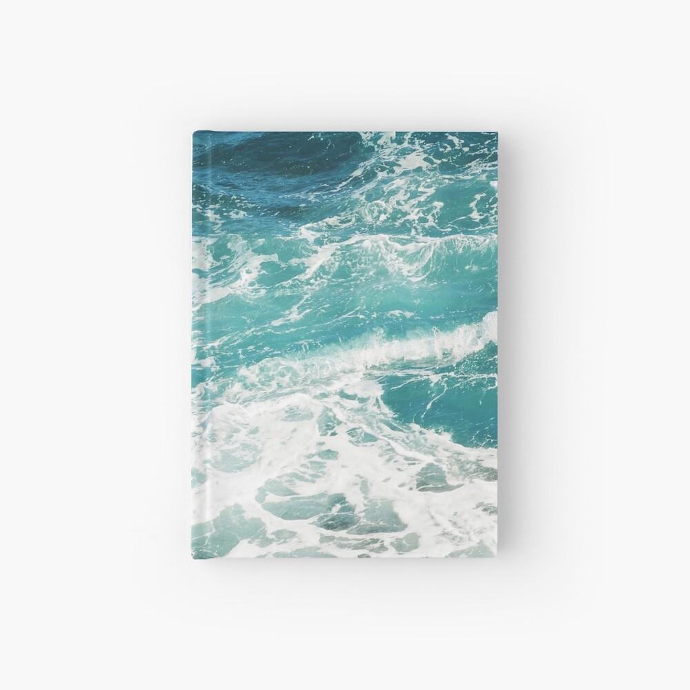 Blaue Meereswellen Notizbuch