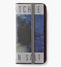 Waxahatchee - cerulan salt vinyl LP sleeve art fan art iPhone Wallet/Case/Skin