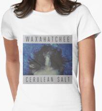 Waxahatchee - cerulan salt vinyl LP sleeve art fan art Women's Fitted T-Shirt