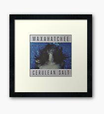 Waxahatchee - cerulan salt vinyl LP sleeve art fan art Framed Print
