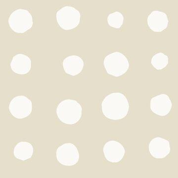 Irregular abstract retro modern dots or blobs circle pattern by UDDesign