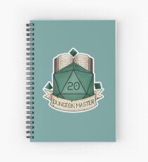 D&D - D20 - Dungeon Master Spiral Notebook