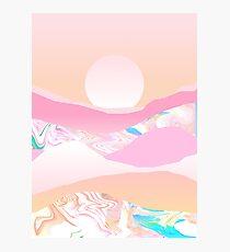 Sunrise Swirls Photographic Print