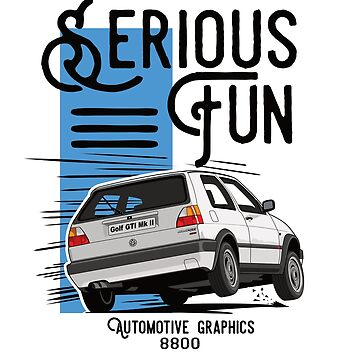 Serious Fun White Version by 8800ag