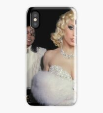 MJ and Stefani, causing a commotion. iPhone Case/Skin