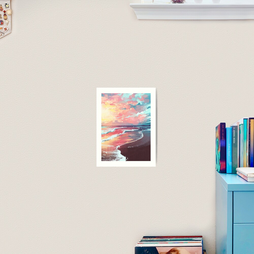 Study of the Sea Art Print